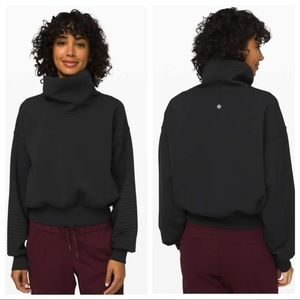 Lululemon Full Flourish Pullover Black